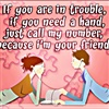 Call Me When U Need A FRIEND