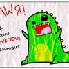 I love you (Dinosaur) lol