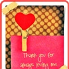 "Thank you for loving me!  :"")"