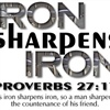 Iron sharpens Iron eCard