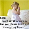 Please Listen to My Prayer eCard
