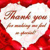 Thanks 4 Valentine Wish