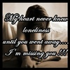 Missing you is unexplainable eCard