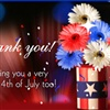 4th Of July Thanks eCard