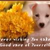 Take good care eCard
