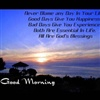 Have a very good morning eCard
