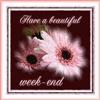 Beautiful week end eCard