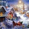 Blue Christmas eCard