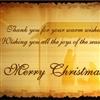 Merry Christmas (THANKS)