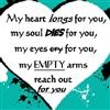Heart touching me to you