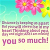 distance is keeping us apart