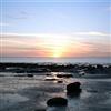 Beautiful sunset in Norfolk