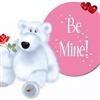 Love rose & teddy bear...