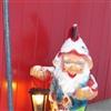Santa with light