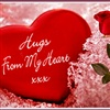 Hugs From My Heart eCard