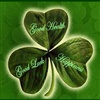 For each petal on the shamrock eCard