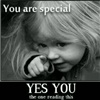you are SPECIAL eCard