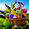 Beautiful Happy Easter My Friend eCard