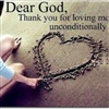Gods unconditional love