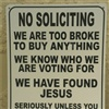 No Soliciting eCard