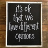 Different Opinions eCard