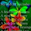 My Wish For You Today