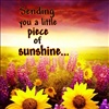Sending you a little piece of sunshine eCard