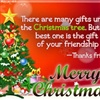 Merry Christmas To My Special Friend eCard