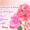 Happy Rose Day eCard