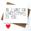 I want for christmas you eCard