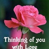 Thinking of you with love
