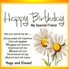Happy Birthday My Special Friend eCard