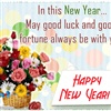 New Year Good Luck eCard