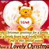 Lovely Christmas To You eCard