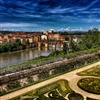 Its an image I took of my town Albi