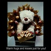 Warm hugs and kisses eCard