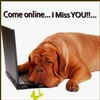 Come online I miss you eCard