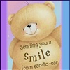 Sending you a smile from ear to ear eCard