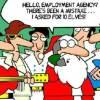 Santa is now hiring