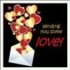 sending love your way eCard