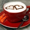 sharing a cup of love